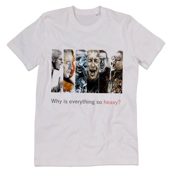 Футболка Linkin Park Why is Everything So Heavy?